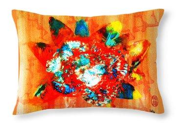 Starburst Nebula Throw Pillow by Roberto Prusso