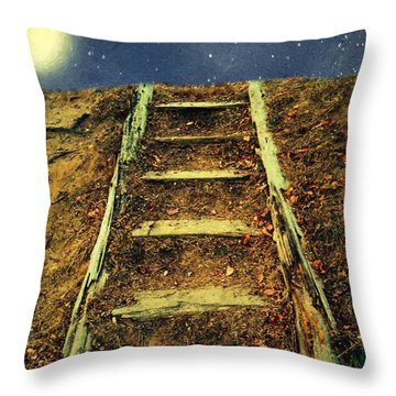 Starclimb Throw Pillow