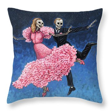 Stardust Throw Pillow by Holly Wood