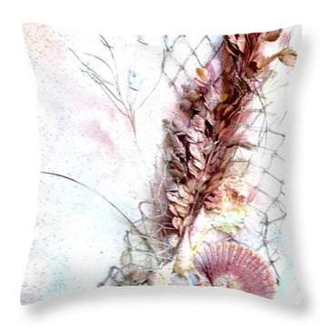 Starfish Is The Star Throw Pillow