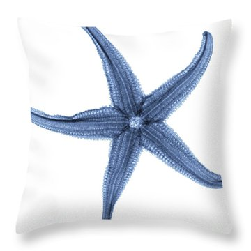 Starfish X-ray Throw Pillow by Gustoimages