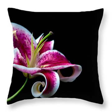 Stargazer Throw Pillow by Sennie Pierson