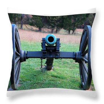Staring Down The Barrel Throw Pillow