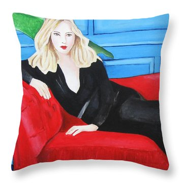 Starlet Throw Pillow by Venus
