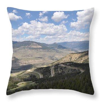 Starlight Basin Throw Pillow