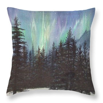 Starlight Dance Throw Pillow