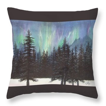 Starlight Dance Throw Pillow