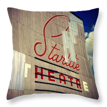 Starlite  Throw Pillow