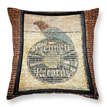 Starr-gennett's Parrot Throw Pillow