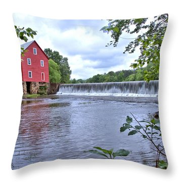 Starrs Mill Throw Pillow