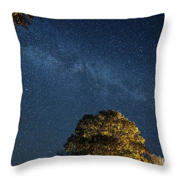 Throw Pillow featuring the photograph Starry Skies by Martin Konopacki