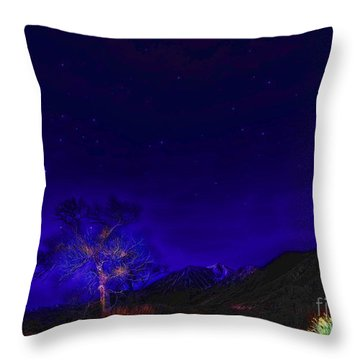 Starry Starry Night-2 Throw Pillow