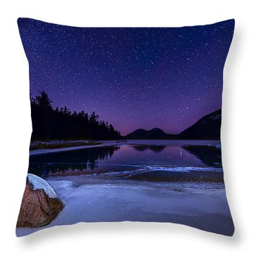 Stars On Ice Throw Pillow