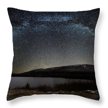 Stars Over Cadillac 1683 Throw Pillow