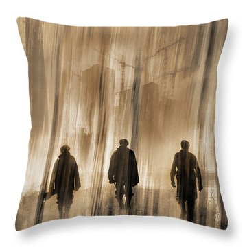 Start Of Another Day Throw Pillow