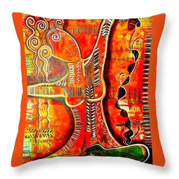 Starting Again Throw Pillow