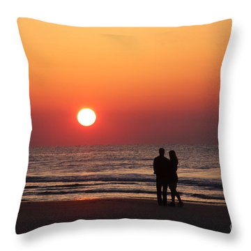 Starting Your Day Off Right With The One You Love Throw Pillow
