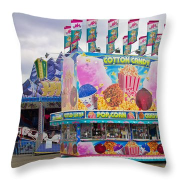 Throw Pillow featuring the photograph State Fair by Steven Bateson