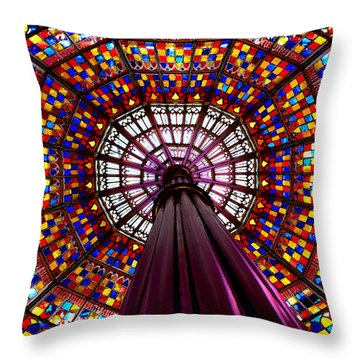 State House Dome Throw Pillow