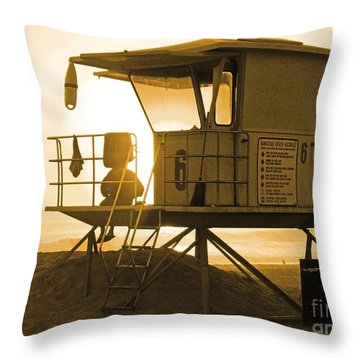 Station 6 Throw Pillow by Everette McMahan jr