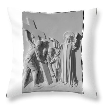 Station I I Throw Pillow