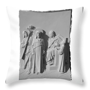 Station I Throw Pillow