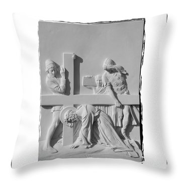 Station V I I Throw Pillow