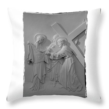 Station V I Throw Pillow