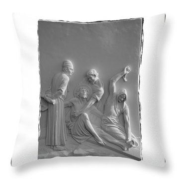 Station X I Throw Pillow