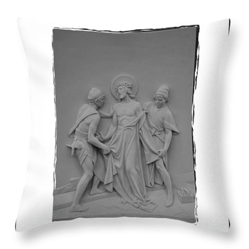 Station X Throw Pillow