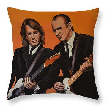 Status Quo Throw Pillow