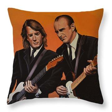 Rick Throw Pillows