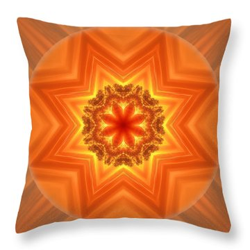 Stay Connected Mandala Throw Pillow