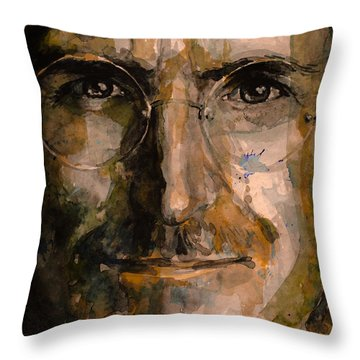 Steve... Throw Pillow by Laur Iduc