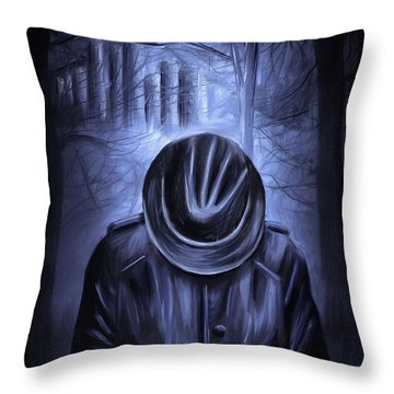 Stay Safe Throw Pillow by Svetlana Sewell