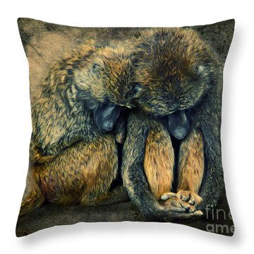 Stay Together Throw Pillow