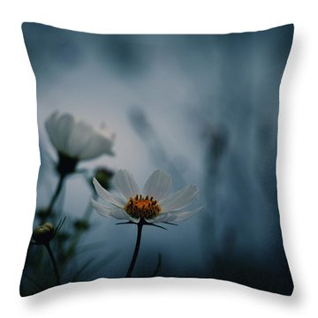 Stay With Me A While Throw Pillow by Rachel Mirror