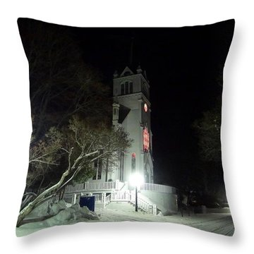 Ste. Anne Catholic Church Throw Pillow