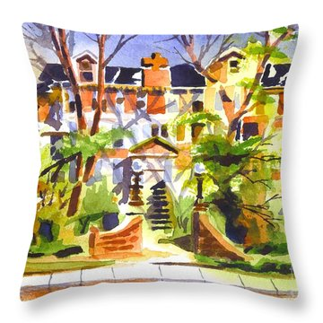 Ste Marys Of The Ozarks Hospital Throw Pillow