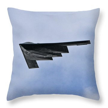 Throw Pillow featuring the photograph Stealth by John Freidenberg
