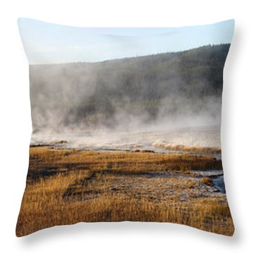 Steam Creek Throw Pillow