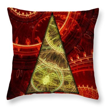 Steam Punk Christmas 1 Throw Pillow
