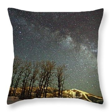 Steamboat Dreams Throw Pillow by Matt Helm