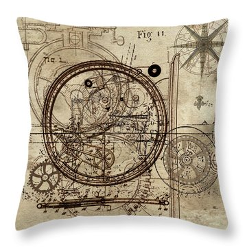 Steampunk Dream Series IIi Throw Pillow