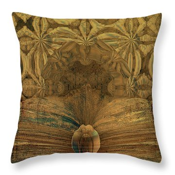 Steampunk Recovered Throw Pillow