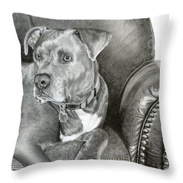 Mixed Breed Throw Pillows