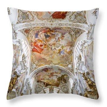 Steingaden Abbey Throw Pillow