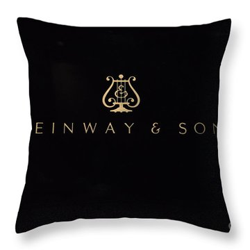 Steinway And Sons Throw Pillow