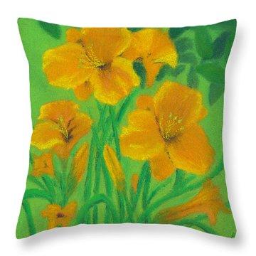 Stella De Oro Throw Pillow