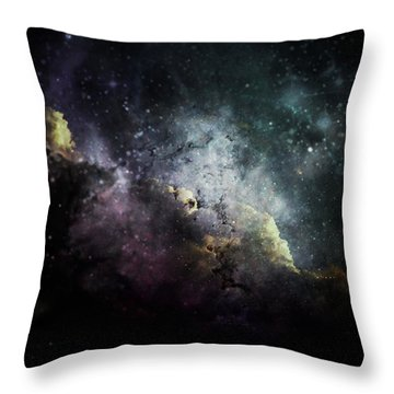 Stellar 2 Throw Pillow by Cynthia Lassiter